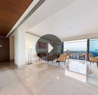 Take a 360° View of The Living Room in The Presidential Suite at The Oberoi, Gurgaon