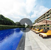 Take a 360° View of The Pool at The Oberoi, Gurgaon