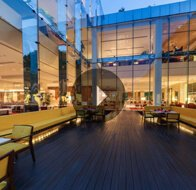 Take a 360° View of The Threesixtyone°, Floating Deck Restaurant at The Oberoi, Gurgaon