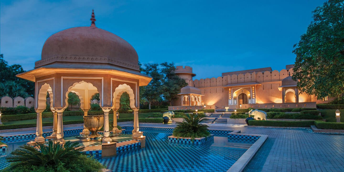 The Royal Resort in Jaipur, Rajasthan - The Oberoi Rajvilas, Jaipur