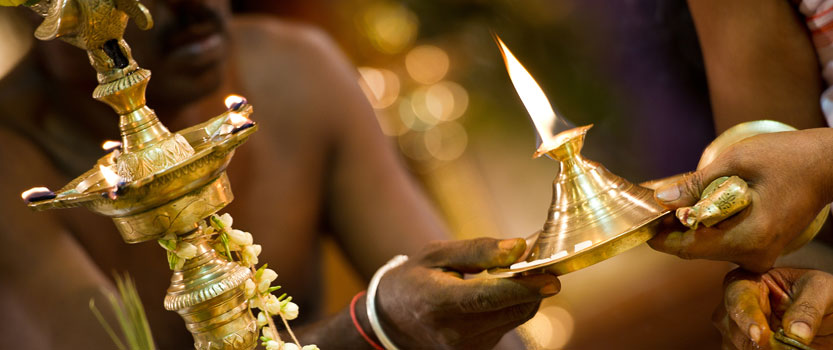 Experience The Traditional Aarti at Dawn in Lord Shiva Temple - The Oberoi Rajvilas, Jaipur
