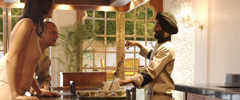 Cooking Session With The Masters at Rajmahal, The Indian Restaurant - The Oberoi Rajvilas, Jaipur