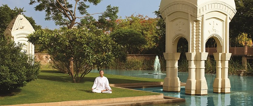 Yoga and Meditation- The Oberoi Rajvilas, Jaipur