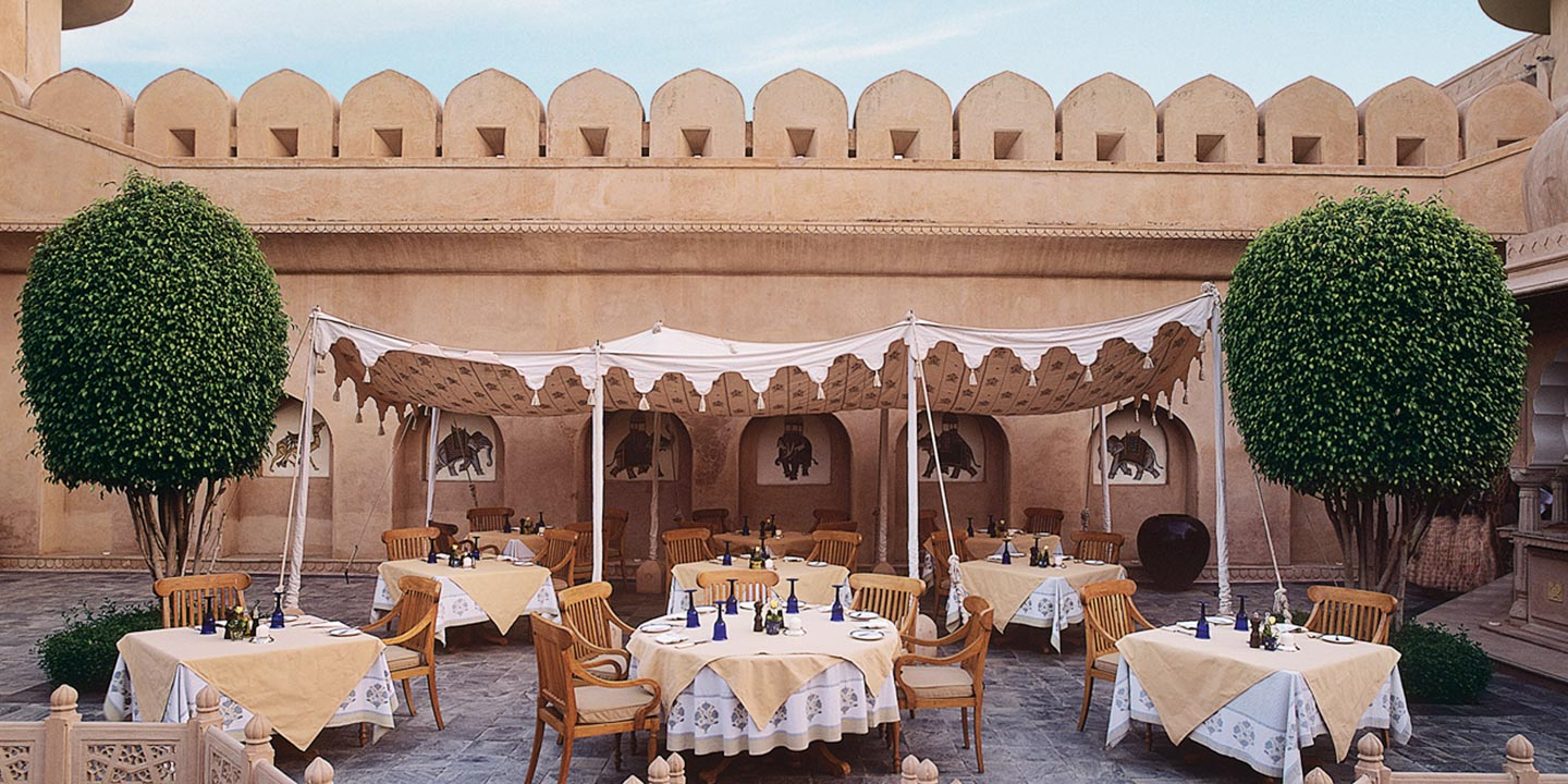 Raj Mahal - Indian Cuisine Restaurants at The Oberoi Rajvilas, Jaipur