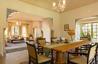 Kohinoor Villa with Private Pool For Royal Experience - The Oberoi Rajvilas, Jaipur