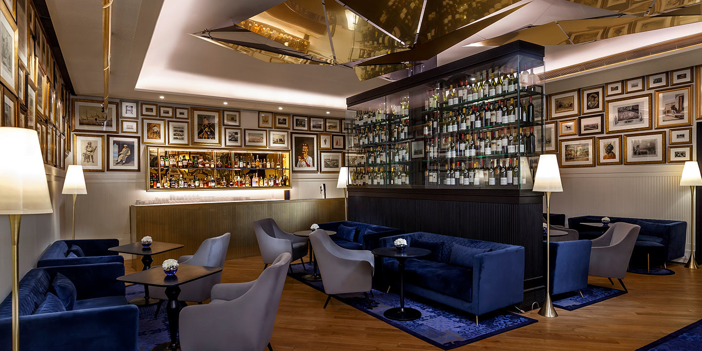 The Bar - The Oberoi Grand, Kolkata