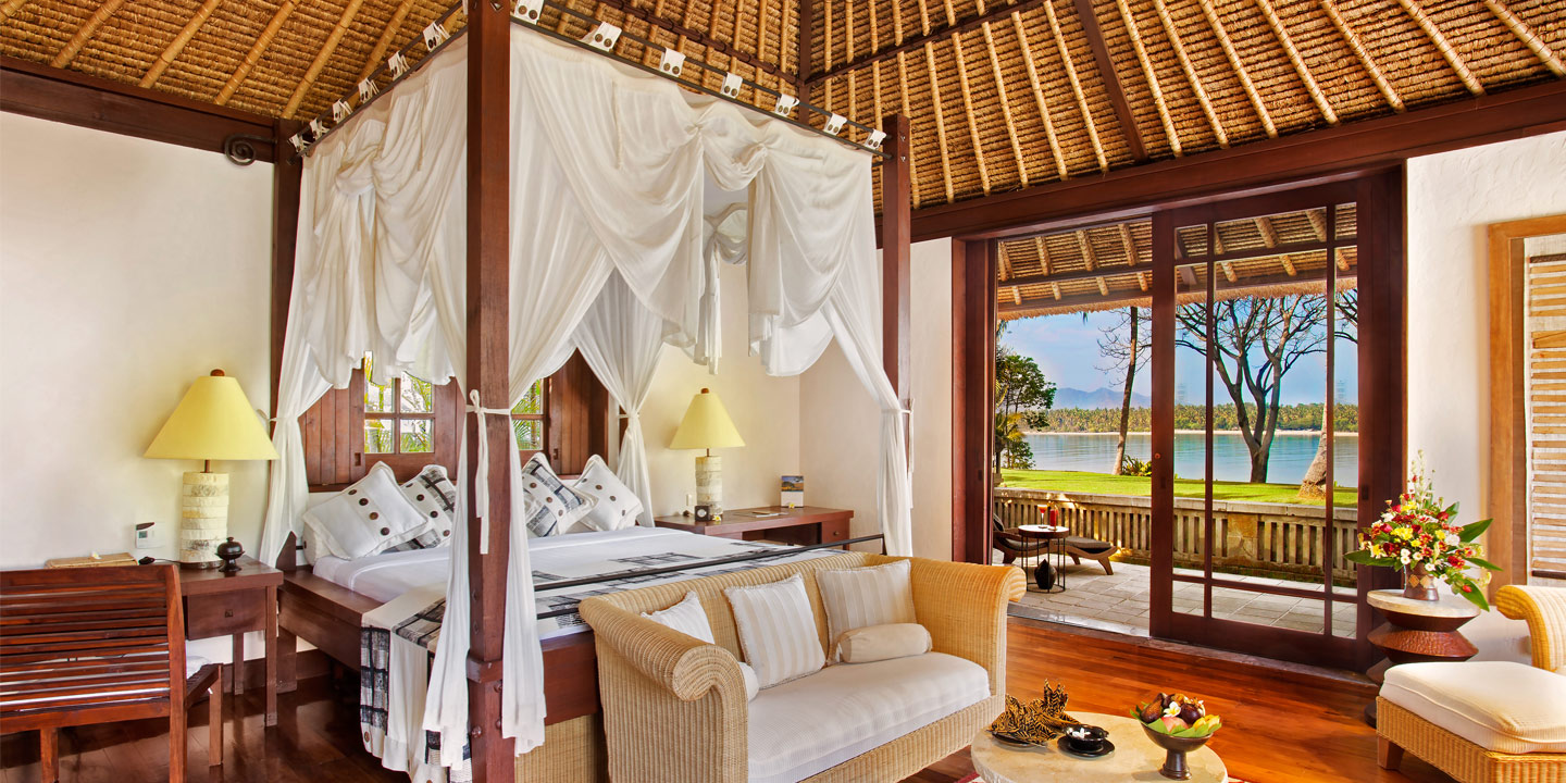 Villas with Ocean View and Private pool at The Oberoi, Lombok