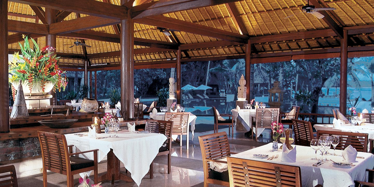 Lumbung Restaurant - Award Winning Open Air Restaurant at The Oberoi, Lombok