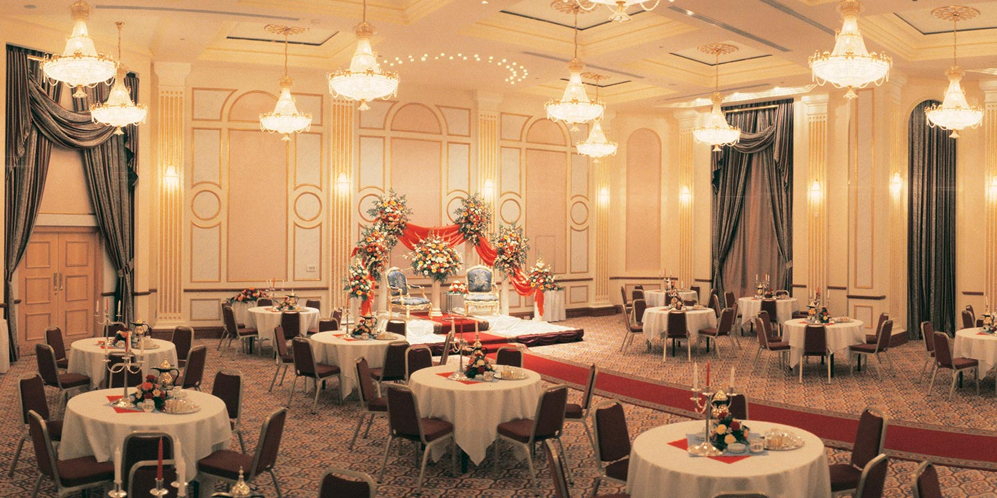 Event Venues for Wedding or Engagement With Separate Entrances for Men & Women at The Oberoi, Madina
