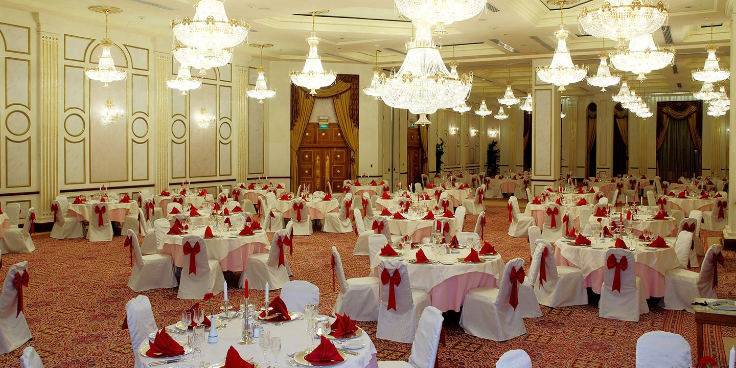 Social Event Venues for Wedding, Engagement or Birthday With Separate Entrances for Men & Women The Oberoi, Madina