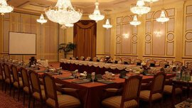 Banquet Halls in Arabic Designs With a Stage & Elevated Gallery - The Oberoi, Madina