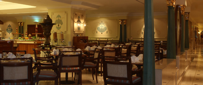 Al Ansar - Buffet Restaurant With Arabic Pickles n Desserts, Western & Indian Cuisine at The Oberoi, Madina