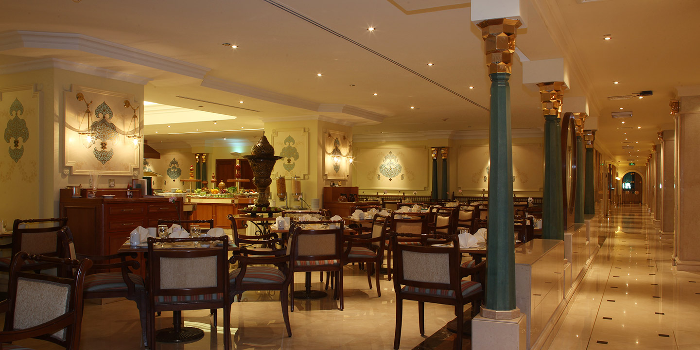 Al Ansar - Buffet Restaurant With Arabic, Western & Indian Cuisine at The Oberoi, Madina
