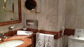 Luxurious Bathrooms With Bathtub & Shower at The Oberoi, Madina
