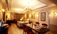 Royal Suite With Twin Bedroom, Living, Dining & Shower Room at The Oberoi, Madina