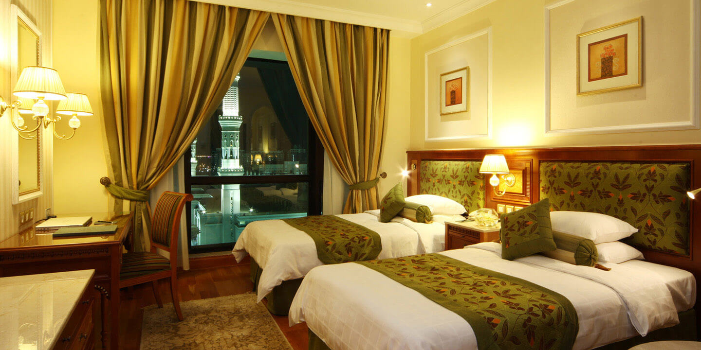 Standard Rooms in Arabic Style With Twin Bed at The Oberoi, Madina