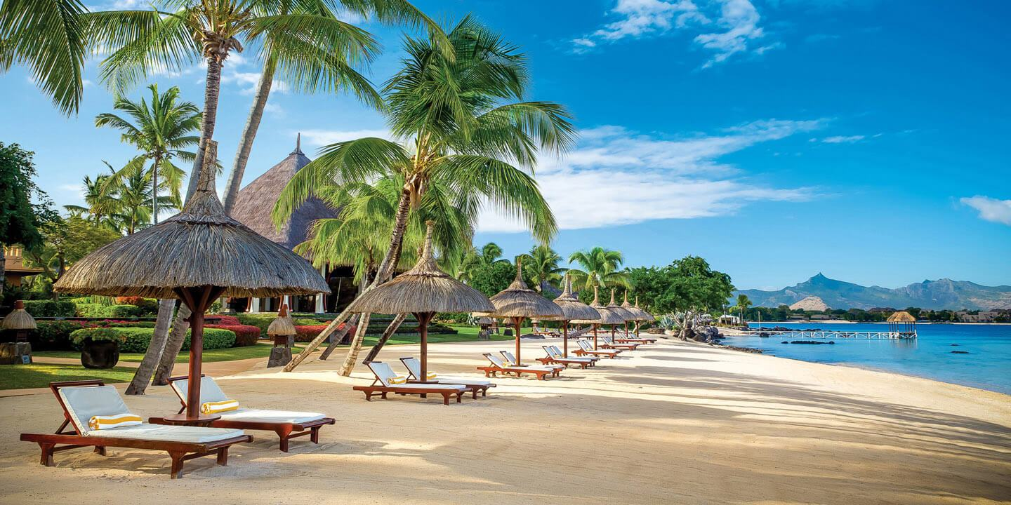 Beach for Two - Relaxing White Sand Beaches For The Couples - The Oberoi, Mauritius