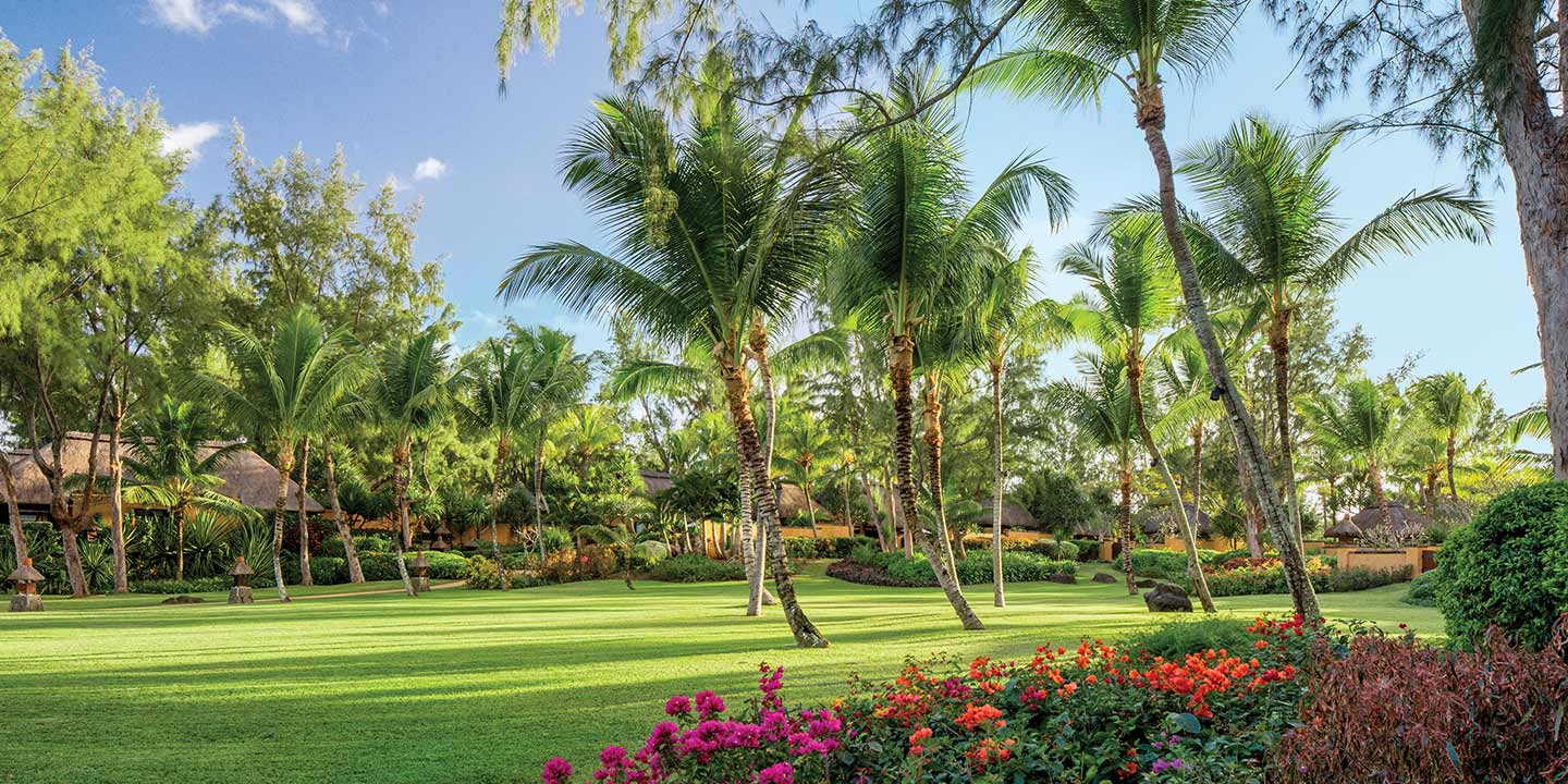 Lush Green Tropical Garden - The Oberoi, Mauritius