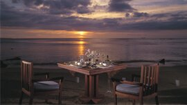 Private Dining in an Ambience of French Colonial Era at The Oberoi, Mauritius