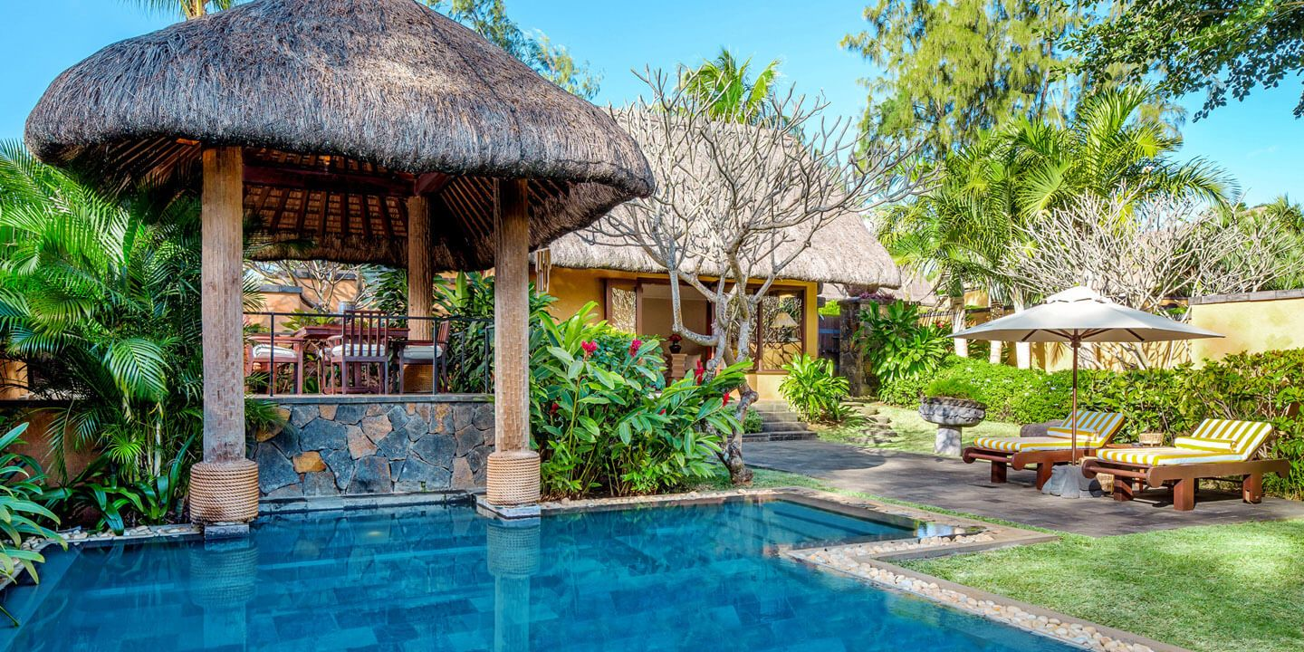 Private Pool of The Luxury Villa at The Oberoi, Mauritius