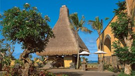 Local Flavour - Pavilions & Villas are Roofed With Traditional & Waterproof Thatch at The Oberoi, Mauritius