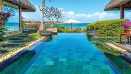 Magnificent Views - Pavilions & Villas Provide Views of Gardens, Lawns & Turtle Bay at The Oberoi, Mauritius