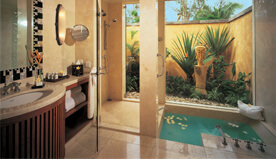 The Premier Villa Bathroom - The Oberoi, Mauritius