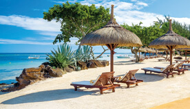 Premier Villa offers unparalleled views of the azure ocean and magnificent sunset views - The Oberoi, Mauritius