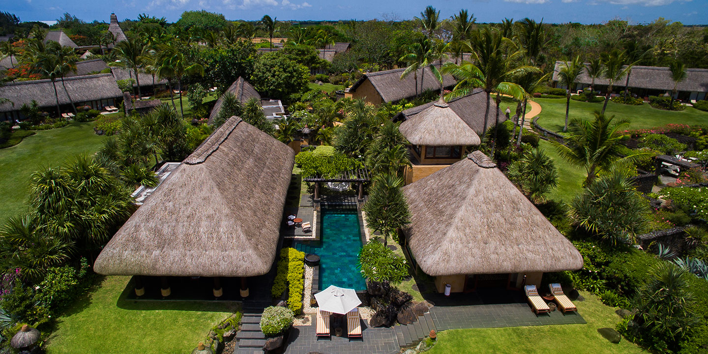 Private Pool of The Royal Villa Overlooking The Ocean at The Oberoi, Mauritius