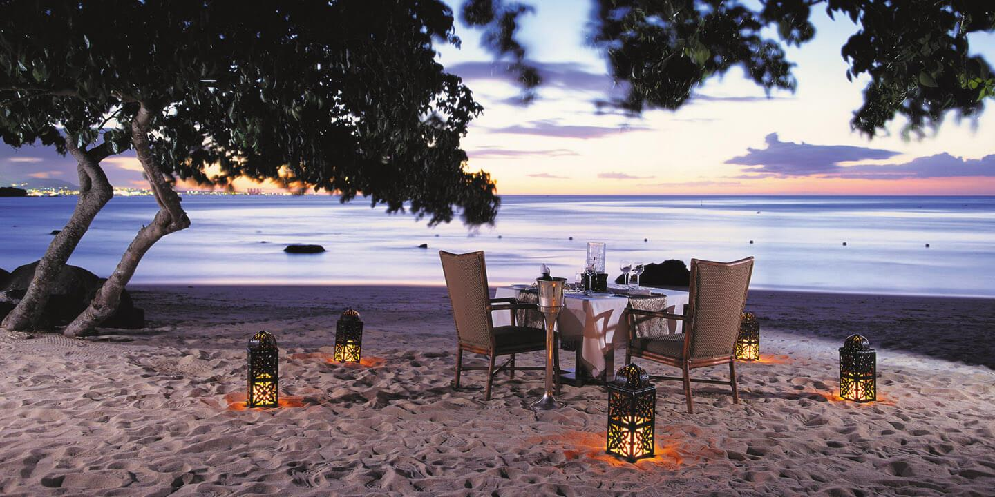 Romantic Sea Side Dining - Dining Specials at The Oberoi, Mauritius