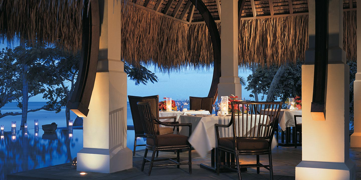 The Restaurant - A Formal Dining Venue That Serves Creole, International & Asian Cuisines at The Oberoi, Mauritius