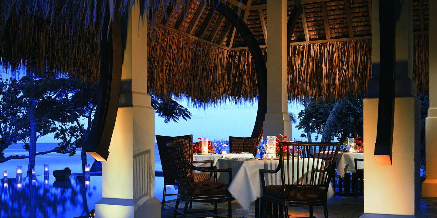 The Restaurant - A Formal Dining Venue Serving Creole, International & Asian Cuisine at The Oberoi, Mauritius