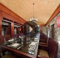 Take a 360° View of The Dinner in the Historic Wine Cellar at The Oberoi, Mauritius