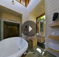 Take a 360° View of The Bathroom in Royal Villa at The Oberoi, Mauritius