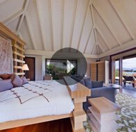 Take a 360° View of The Bedroom in Royal Villa at The Oberoi, Mauritius