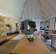 Take a 360° View of The Living Room in Royal Villa at The Oberoi, Mauritius
