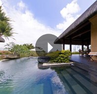 Take a 360° View of The Private Pool in Royal Villa at The Oberoi, Mauritius