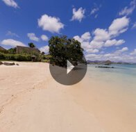 Take a 360° View of The Beach at The Oberoi, Mauritius