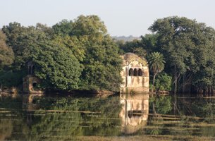 Surwal Lake in Ranthambhore