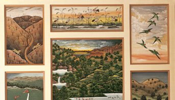 Local Art Collection at The Oberoi Vanyavilas, Ranthambhore