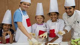 Little Bakers - Baking Lessons for The Kids at The Oberoi Vanyavilas, Ranthambhore
