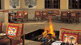 Charmed Dining - Luxury Dining at The Oberoi Vanyavilas, Ranthambhore
