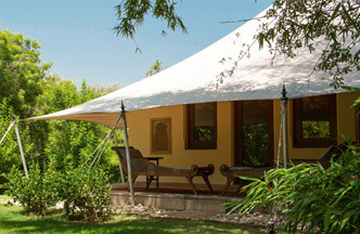 Luxury Tents at The Oberoi Vanyavilas, Ranthambhore