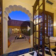 Take a 360° View of The Restaurant at The Oberoi Vanyavilas, Ranthambhore