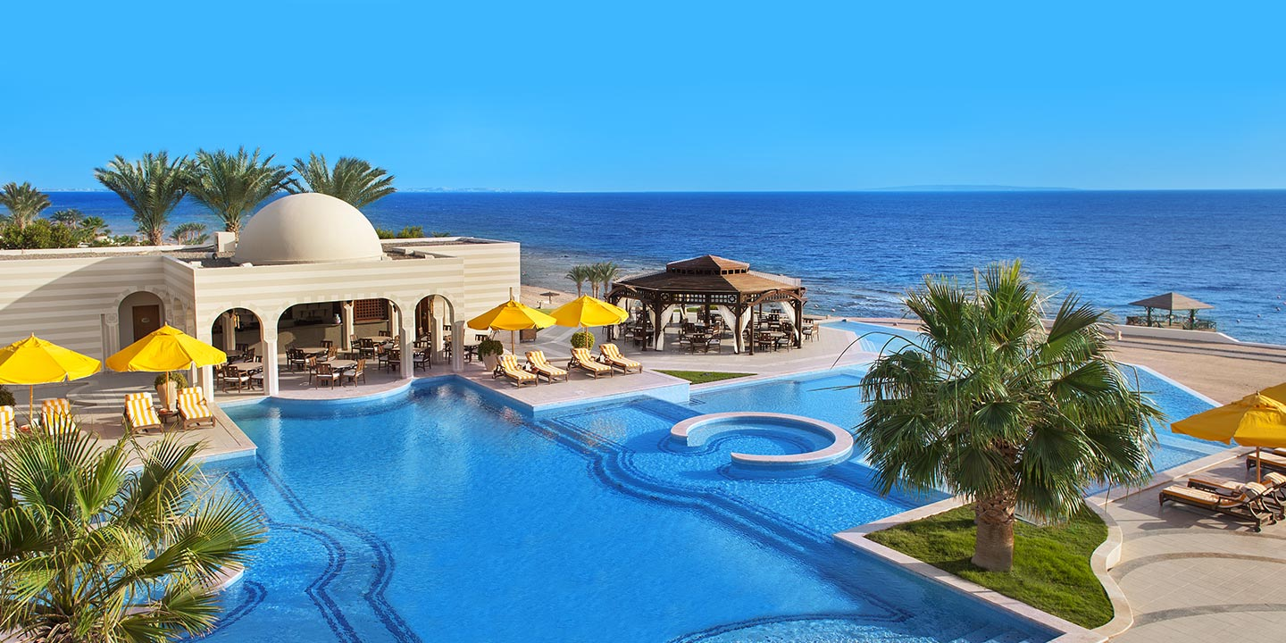 The Crystal Clear Swimming Pool at The Oberoi, Sahl Hasheesh