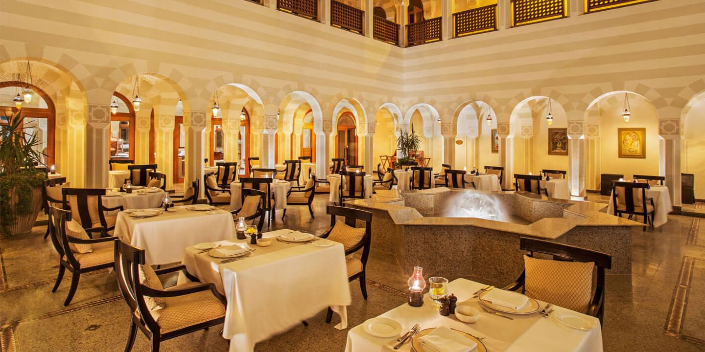 The Restaurant For International Cuisine With Live Music at The Oberoi, Sahl Hasheesh