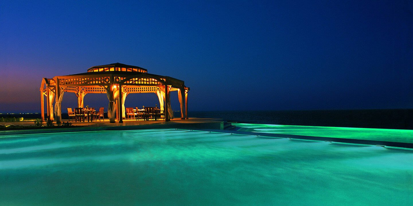 Pergola - Poolside Dining Space Serving Mediterranean & Far East Cuisine at The Oberoi, Sahl Hasheesh