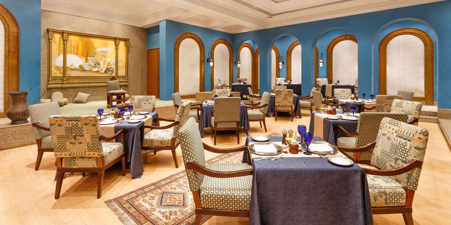 Zaafran Authentic Indian Fine Dining Restaurant At The Oberoi Sahl Hasheesh