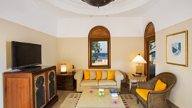 Modern & Convenient Deluxe Suites at The Oberoi, Sahl Hasheesh