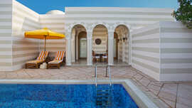 Private Swimming Pool of The Grand Suite at The Oberoi, Sahl Hasheesh